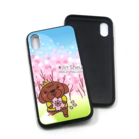 promotional glass back phone cases