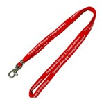 Tube Lanyards - Promotional polyester tube lanyards