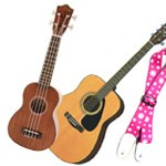 Guitar and Ukulele Straps