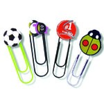 Paper Clips - Paper Clips with Custom Soft PVC Logos