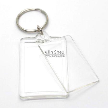 Acrylic Keychains (Open Design) - promotional acrylic keychains