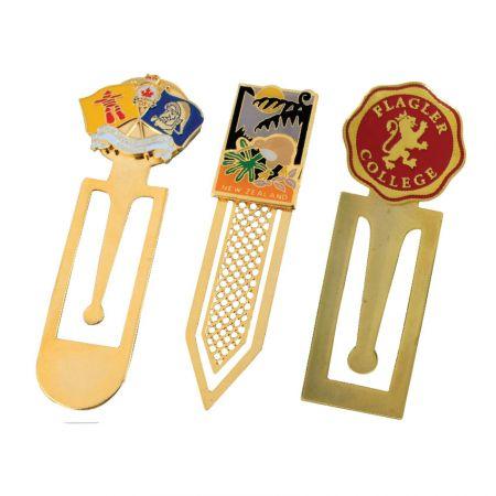 Standard Designed Bookmarks - custom made metal bookmarks