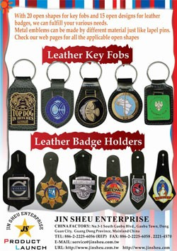 Leather Key Fobs