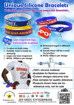 Unique Silicone Bracelets
