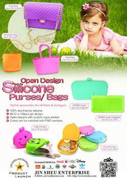 Open Design Silicone Purses/ Bags