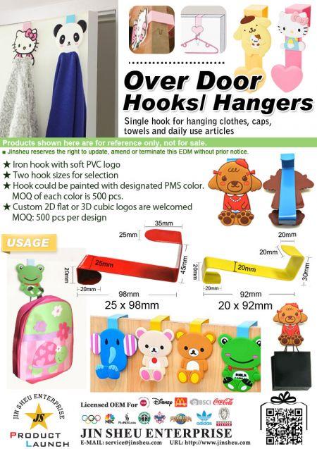 Over Door Hooks/ Hangers