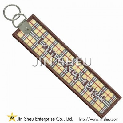 Customized Woven Key Tags