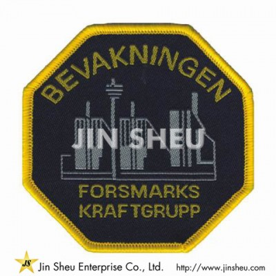 Iron on Woven Patches - Woven Garment Patches