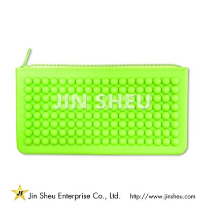 Silicone Zipper Wallets