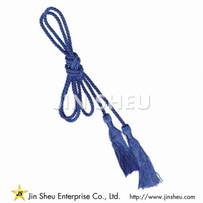 Solid Color Royal Blue Honor Cord - Solid Color Royal Blue Honor Cord