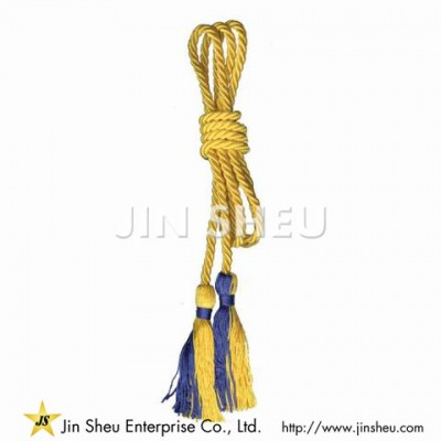 Honor Cord With Graduation Tassel - Honor Cord With Graduation Tassel