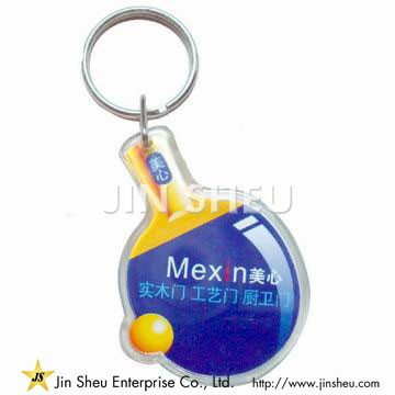 Promotional Acrylic Key Chain