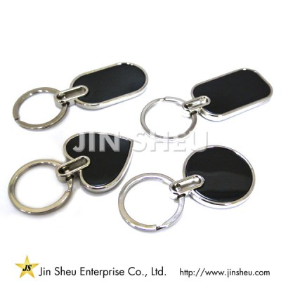 Classic Black Key Chains
