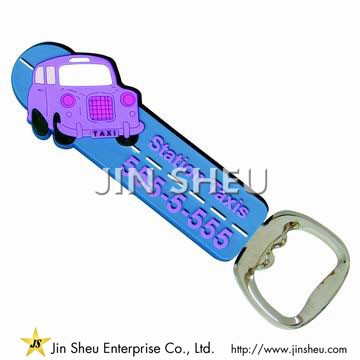 Custom Made Plastic Bottle Opener - Custom Made Plastic Bottle Opener