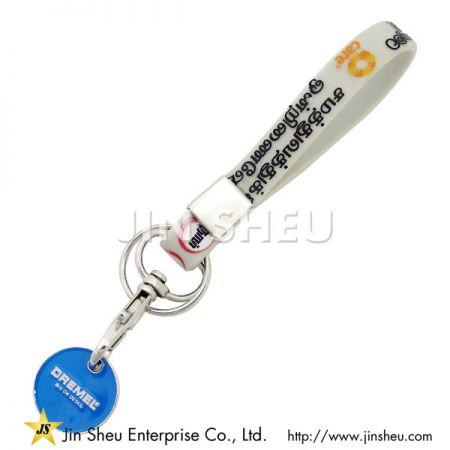 Customized Silicone Keyring - Customized Silicone Keyring