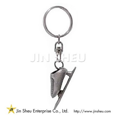 Customized Ice Skates Keyring