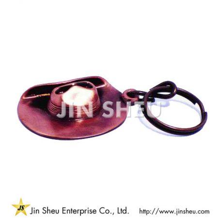 Western Cowboy Hat Keychain