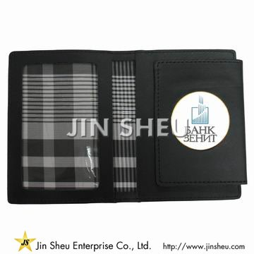 Badge Wallet - Leather Badge Wallet