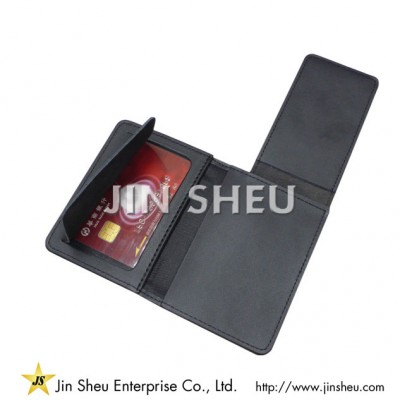 ID Badge Wallets - wallet with emblems