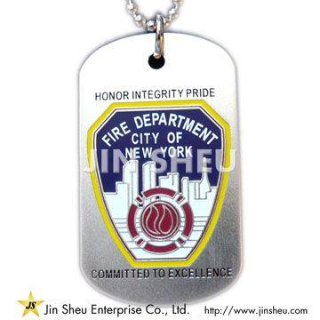 Fire Department Dog Tags - Fire Department Dog Tags