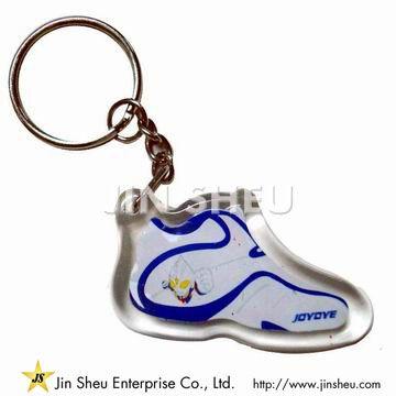 Acrylic Plastic Keychain