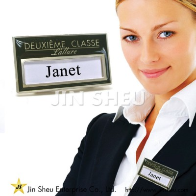 Metal Name Badges - High Quality Metal Name Badges