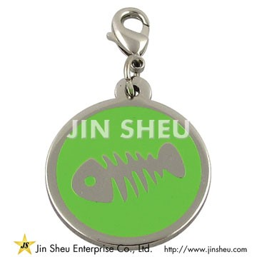 Pet ID Tag without Bells