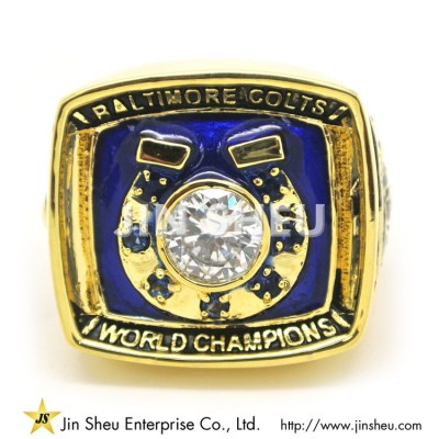 NFL Fantasy Champion Ring - NFL Fantasy Champion Ring