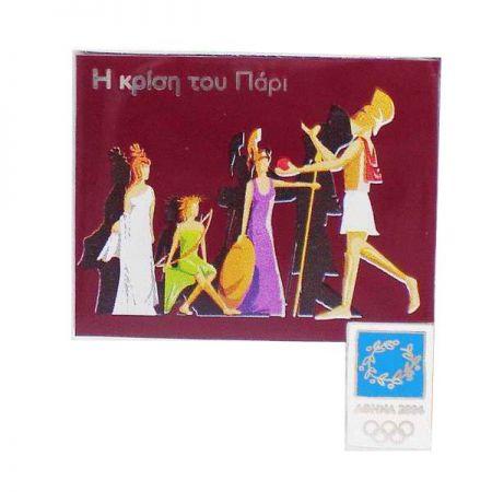 Custom Metal Badges for Olympics