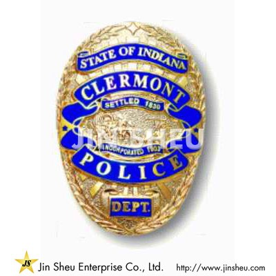 Clermont Police Badges - Custom Made Police Badges