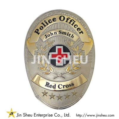Police Officer Badges - Custom Police Officer Badges