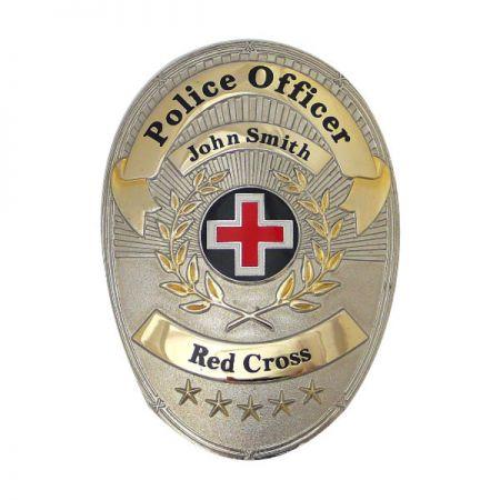Police Officer Badges - Custom Police Officer Badges
