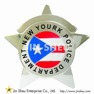 New Yourk Police Department Badges - Custom Made Police Badges