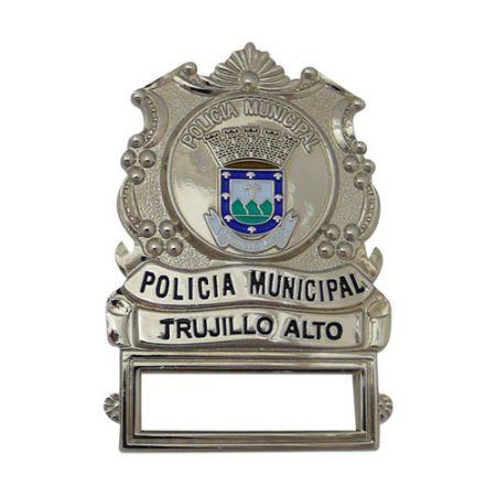 Policia Municipal Badges - Custom Police Badges