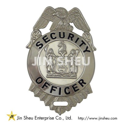 Security Officer Badges - Custom Security Badges