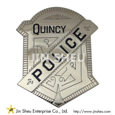 Quincy Police Badges - Custom Quincy Police Badges