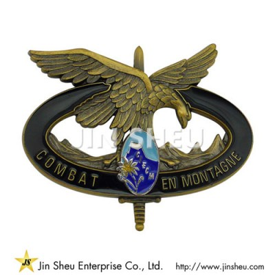Combat Montagne Badges - Custom Made Combat Montagne Badges