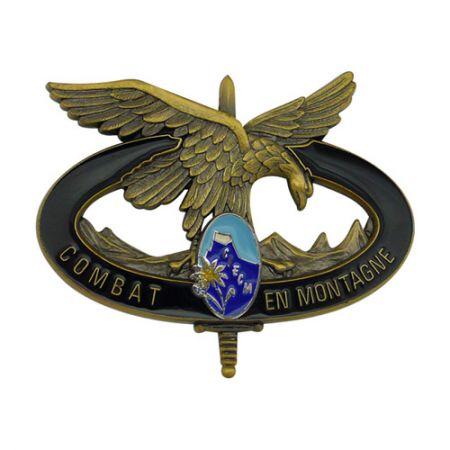 Combat Montagne Badges - Custom Made Combat Montagne Badges