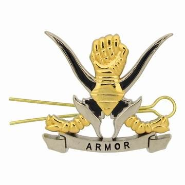 Armor Cap Badges - Custom Armor Cap Badges