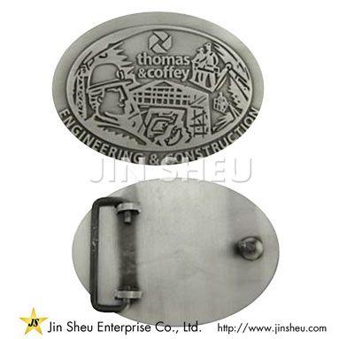 Custom Zinc Belt Buckle