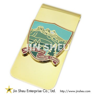 Souvenir Money Clips with Custom Design