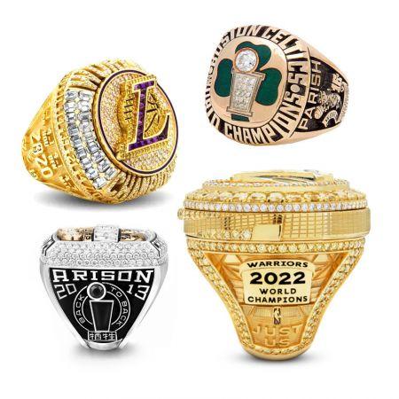 Championship Rings - Custom NBA Championship Ring