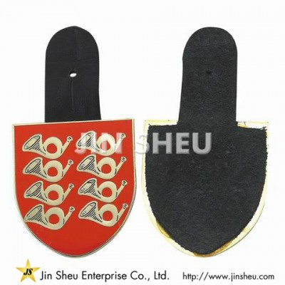 Custom Made Leather Badges - Custom Made Leather Badges