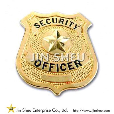 Custom Security Officer Badges - Security Officer Badges