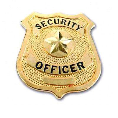 Custom Security Officer Badges - Security Officer Badges