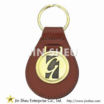 Personalized Leather Key Fobs