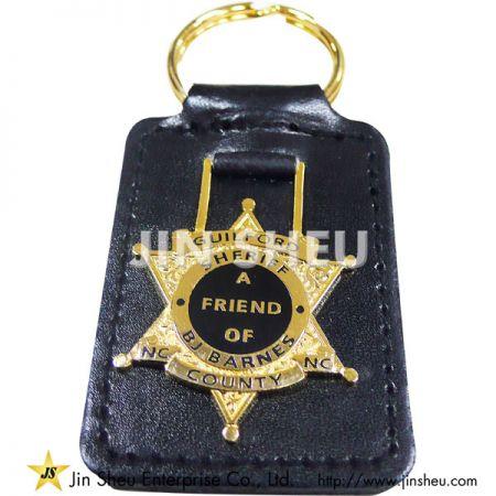 Custom Leather Key Fobs Supplier