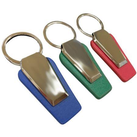 Promotional Leather Keychain - Promotional Leather Keychain