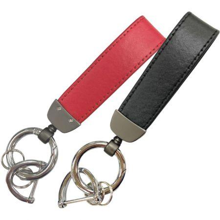Henkilökohtainen nahkainen avaimenperä - Henkilökohtainen nahkainen avaimenperä