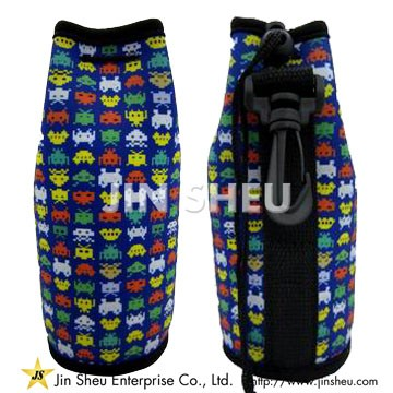 Neoprene Can Sleeve with Hook - Promotional Can Sleeve